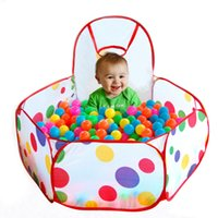 Wholesale 2016 Children Kid Ocean Ball Pit Pool Game Play Tent Outdoor Kids Hut Pool Play Tent Children s Tent Playhouse Indoor Game Baby Toy