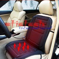 Wholesale by dhl or ems car heating cushion seat cover in winter universal design