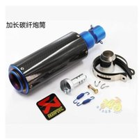 auto parts catalytic converter - Modified Scooter Auto Motorcycle Exhaust Racing Bikes Muffler CB600 FZ400 Akrapovic Exhaust Muffler Pipe With Nice Sound Motorcycle Parts
