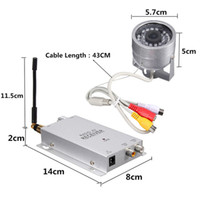 Wholesale Weatherproof Night Vision Wireless TV Lines Ghz quot Sensors Camera with Manual modulated Radio AV Receiver