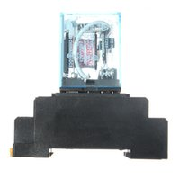 Wholesale High Quality V A Coil Power Relay DPDT LY2NJ HH62P HHC68A Z With Socket Base
