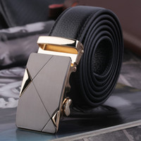 Wholesale Luxury Men s Automatic Buckle Waistband PU Leather Belt Waist Strap Gift Hot Selling
