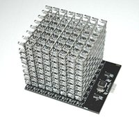 Wholesale 8X8X8 RGB LED Cube Shield