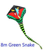 Wholesale high quality m snake kite green cobra kite Trimeresurus kite with handle line m m m size choose weifang toy