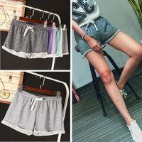 Wholesale 2016 New Summer Pants Women Sports Shorts Gym Workout Waistband Skinny Yoga Short
