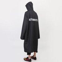 animal print raincoat - Rookie Of The Year Brand Vetements Long Jacket Sup Vetements Raincoat
