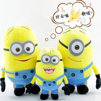 Wholesale Despicable ME Movie Plush Toy CM Big Size D Eyes Inch Minions Toys Children Dolls for christmas