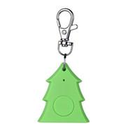 bag tags kids - Christmas tree Smart Finder Bluetooth Tag Key Wallet Kids Pet Child Bag Phone Locator Anti Lost Alarm Sensor