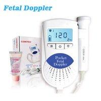 battery health monitor - Heath Care Pocket fetal Doppler Baby Heart Rate Monitor Prenatal Fetal Detector MHz Probe Built in Speaker Health Monitors