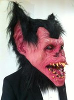 batman latex costume - Halloween Mask Masquerade for Adult Fashion Bat Demon Monster Mask Latex Carnival Party Cosplay Cross dress devil Batman Costume