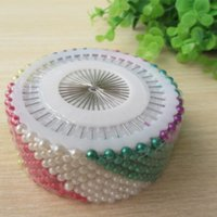 berry pins - 12 Wheels Dressmake sewing pins Shirt locating pins Colorful plastic head Craft DIY needle berry pins wheel set