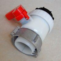 ball valve tap - 2 quot DN50 IBC tank ball valve mm tap
