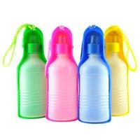 Wholesale Takeaway water feeder walking dog water drinking feeder dog water bottle