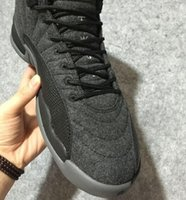 Wholesale 2016 Preorder Air Retro Wool Air Flu Game Men Basketball Sport Sneaker Shoes Size Us