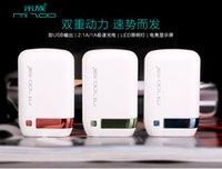 Wholesale MIZU fashion FOST POWER BANK charge quick Ma fashion LED emergency lighting function