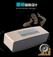 Cheap S815 Block bluetooth speaker sports outdoors wireless portable mini Subwoofer speakers TF SD card sound travel loudspeaker For iphone xiaomi