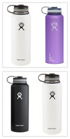 Wholesale IN STOCK oz oz Hydro Flask cups with Flat Cap Stainless Steel HYDRO FlASK Wide Mouth Bottles