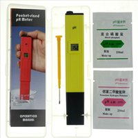 Wholesale Business ph test pen pH meter ph value tester acidometer pen Analyzers PH Meters Measurement Analysis Instruments