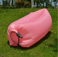 Wholesale 0 kg Inflatable sleep bags travel Air Filled Hammock Banana Sleeping Bag Sofa Bed Lounge Lounger hangout air lazy sofa air bed