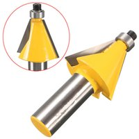 bevel woodworking - 1 Inch Shank Degree Chamfer And Bevel Edging Router Bit Woodworking Tool