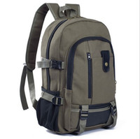 Wholesale High quality Backpack For Men Fashion Brand Travel Hiking bag Sports Laptop Back Pack Students Daypack Rucksack canvas Backpacks