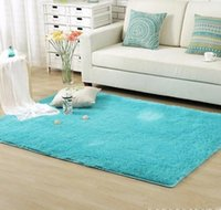 Wholesale Living Dining Bedroom Plush Rugs Retangle Anti skid Carpet Colors W