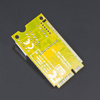 Wholesale Hot in Mini PCI E LPC PC Analyzer Tester POST Card Test For Notebook Laptop Store HIgh quality