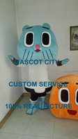 amazing mascots - Gumball Tristopher Watterson blue cat mascot The Amazing World of Gumball costume custom fancy costume anime cosply theme