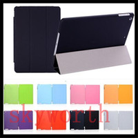 Smart Cover/Screen Cover 7.9'' For Apple Front Smart Cover + Back Anti-Glare Partner Case Full Body Protection for ipad 2 3 4 5 6 ipad air 2 mini 4 Magnetic