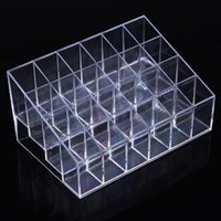 acrylic bread display - Clear Acrylic S Cosmetic Organizer Makeup Case Holder Display Stand Storage Box Simple and Convenient