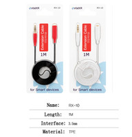 Wholesale Rozet mm Audio Extension Cable Stereo Male to Female Aux Phone Cable Headphone Adapter for iPhone s MP3 CD Player Radio