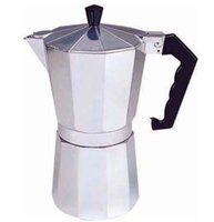 aluminum percolator - High Quality Stove Top CUPS CUPS Continental Aluminum Coffee Maker Coffee Cup Pot Machine Percolator silver coffee machine