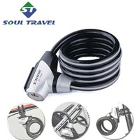 alarm lock cable - Soul Travel Promotion Bicycle Steel Cable Bike Locks Mountain Bikes Fixed Frame Alarm Bicicletas Reflective Cycling Bicicleta