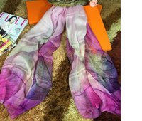 Wholesale Hangzhou silk from China brand new Europe and the United States long silk towel mulberry silk scarves scarves