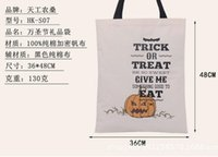 Wholesale 100 Cotton Shopping Bags Handbags Hallowmas Gift Bags New style Selling Via DHL Ship