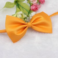 Wholesale 2015 new Fashion Cute Dog Puppy Cat Kitten Pet Toy Kid Bow Tie Necktie Clothes cachorro