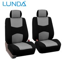 Wholesale LUNDA Car Seat Covers Universal Fit Polyester MM Composite Sponge Car Styling car cushion covers seat cover accessories