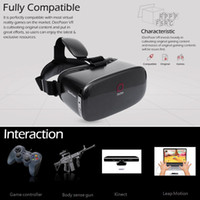 Wholesale DeePoon E2 Virtual Reality Display Glasses VR Video Game P AMOLED Screen BG GB HZ DeePoon API VR Games HDMI Cable for PC