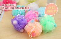 Wholesale Love cleaning sponge take a shower towel bath ball