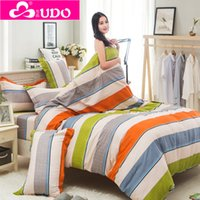 Wholesale size Cotton Duvet Cover for Bedding Set High Quality Quilt Cover Plaid Striped Twin Full Queen King double duvet