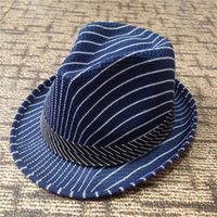 Wholesale Loss Impulse Fashion male fashion jazz hat European and American trade Orly hemp straw hat Striped summer sun visor hat
