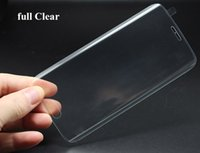 Wholesale 3D Tempered Glass for Samsung S6 Edge Screen Protector Film H hardness Screen defender cover shield for Samsung