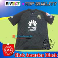 Whosales Club America 2016 Jersey de fútbol rosa TOP CALIDAD Club America negro Jersey 16 17 R.SAMBUEZA P.AGUILAR O.Peralta Camiseta de fútbol