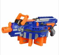 Wholesale Electric Toy Gun NERF Toy Guns Soft Bullet Big Gun Launchers CS Outdoor Toys Kids Children s Birthday Gift