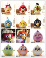 bird toys - 2016 New Cartoon Angry Birds Plush Toys Stuffed Animals Doll D Printed Bird Children Girls Boys Funny Gift