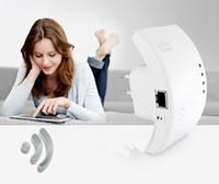 al por mayor punto de acceso inalámbrico gratis-Red Ethernet a 300 Mbps extensión de alcance inalámbrico / punto de acceso Wi-Fi de 2,4 GHz EEE802.11N repetidor de señal / Booster- 3 dBi antenas internas libres