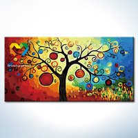 Wholesale Money Tree DIY Painting Baby Toys x120cm Digital Canvas Oil Painting Kids Drawing Toys Set for Children