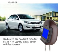 Wholesale hot sale unique design Car Monitor with pillow Car dvd monitor