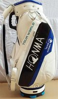 Wholesale new arrival HONMA Golf bags High quality PU Golf staff bag golf cart bag with head cover colors