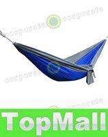 Wholesale LAI People Outdoor Leisure Parachute Hammock Portable Nylon Parachute Hammock for Camping Travel Outdoor Activities